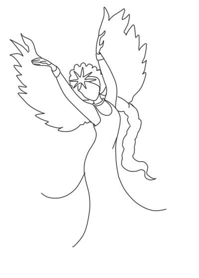 как нарисовать царевну лебедь шаг 8
