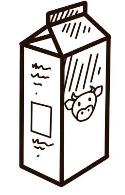 как нарисовать молоко карандашом шаг 8