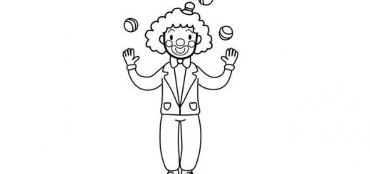 как нарисовать клоуна поэтапно карандашом