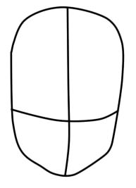 как нарисовать розу из барбоскиных шаг1