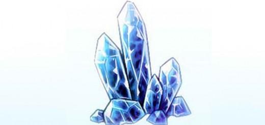 как нарисовать кристалл