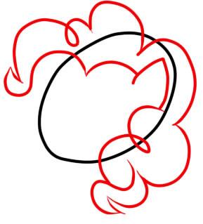 как нарисовать пинки пай