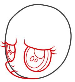 рисуем пони скуталу поэтапно карандашом