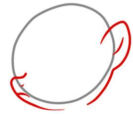 как рисовать эпл блум поэтапно легко