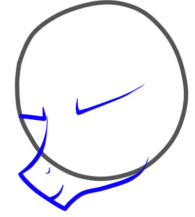 как нарисовать шайнинг армора шаг 2