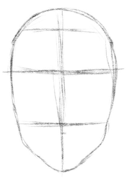 как нарисовать подругу шаг 2