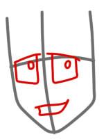 как нарисовать грови из вакфу шаг 2