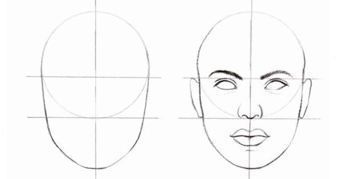Потім риси обличчя
