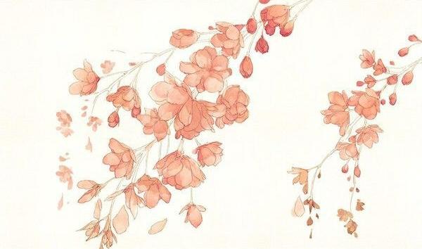 как нарисовать цветы акварелью шаг 3