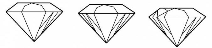 как нарисовать алмаз шаг 3
