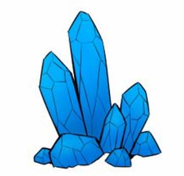 как нарисовать кристалл шаг 4