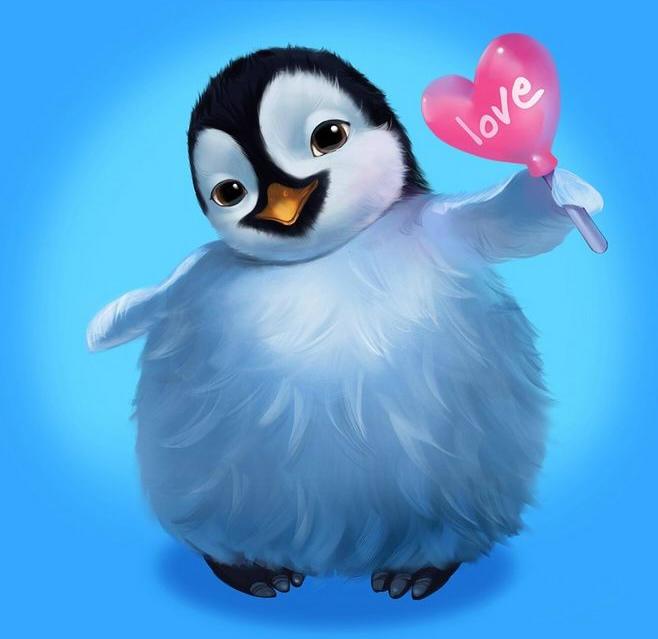 как нарисовать пингвина шаг 4