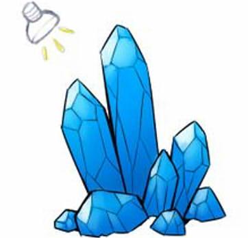 как нарисовать кристалл шаг 5