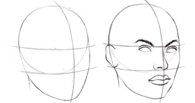 как нарисовать подругу поэтапно 5