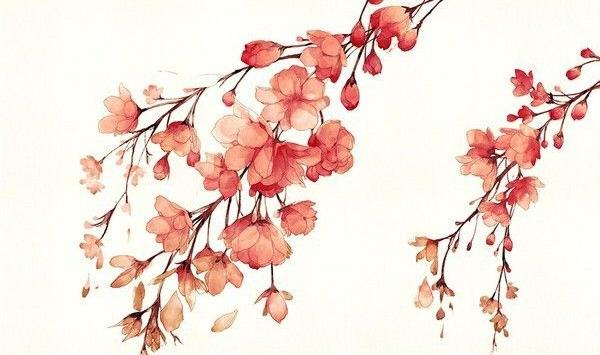 как нарисовать цветы акварелью шаг 5