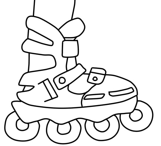 как нарисовать ролики шаг 6