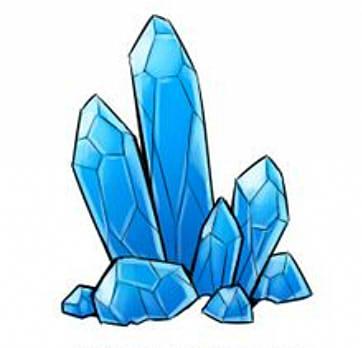как нарисовать кристалл шаг 6