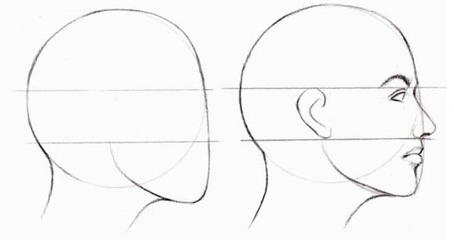 как нарисовать подругу поэтапно 7