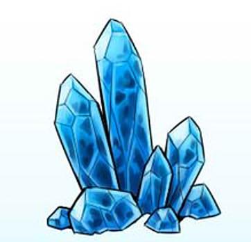 как нарисовать кристалл шаг 7