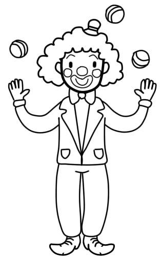 как нарисовать клоуна шаг 9