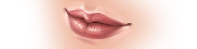 Як намалювати губи в SAI