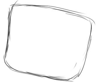 как нарисовать няшку шаг 1