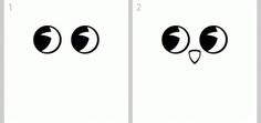 как нарисовать сову легко этап 1