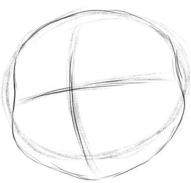 как нарисовать анжелу шаг 2