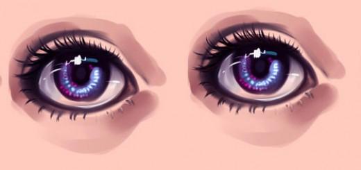 нарисовать глаза в SAI 3