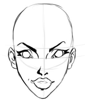 Основы рисования лица