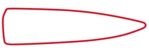как нарисовать самолет военный
