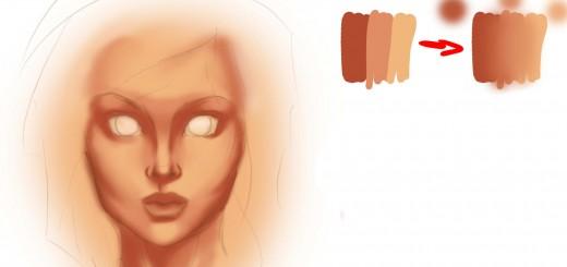 основы покраски кожи шаг 5