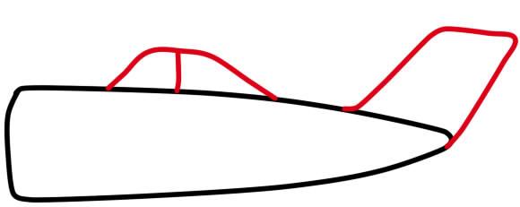 как нарисовать самолет для детей