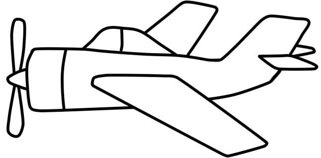 Как нарисовать детям самолет карандашом поэтапно