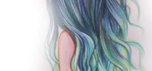 видеоурок как нарисовать волосы