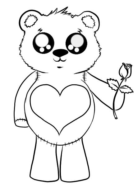 как нарисовать мишку шаг 6