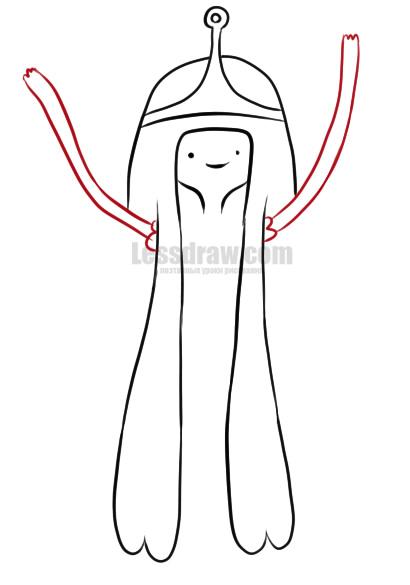 Как нарисовать принцессу бубль гум