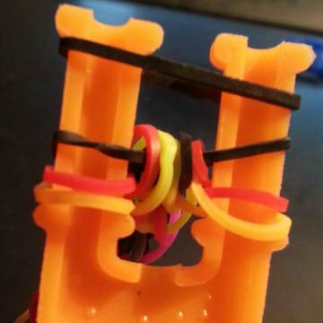 плетение браслетов из резинок для начинающих