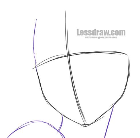 Как нарисовать Эльзу карандашом поэтапно