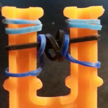 браслеты из резинок для начинающих поэтапно