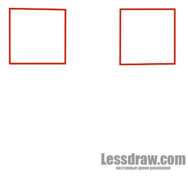 Как нарисовать крипера из Майнкрафт