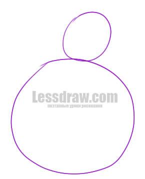 Как нарисовать грушу ребенку карандашом