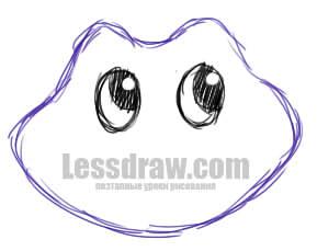 нарисовать рисунок царевна лягушка
