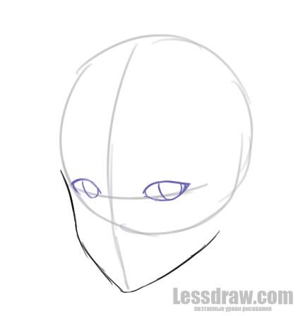 Как нарисовать аниме мальчика