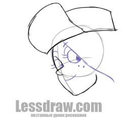 Как рисовать Венди карандашом