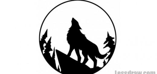 воющего волка