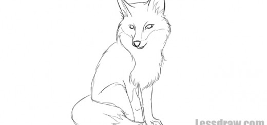 Как нарисовать лису поэтапно карандашом