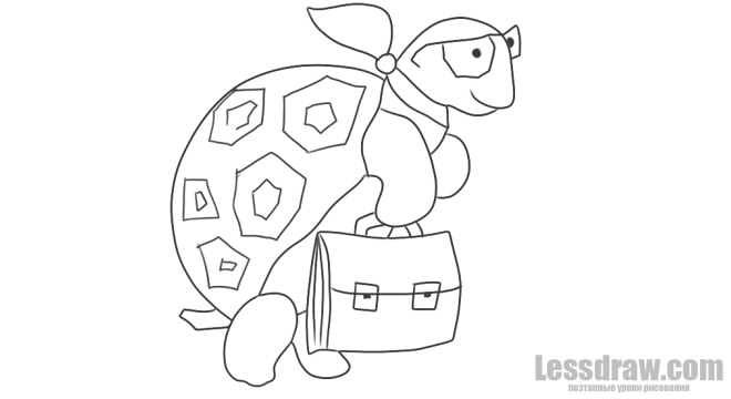 картинка муравьишки вопросика и мудрой черепахи