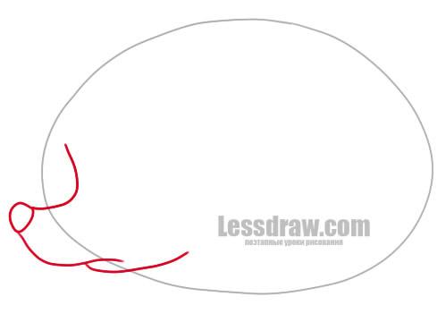 как нарисовать ежика карандашом