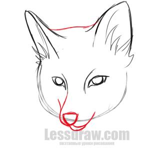Как нарисовать лису и тетерева